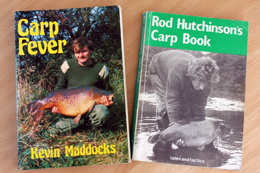 Two of the most influential carp books of all time - they contained so much new information on tackle, tactics and bait.