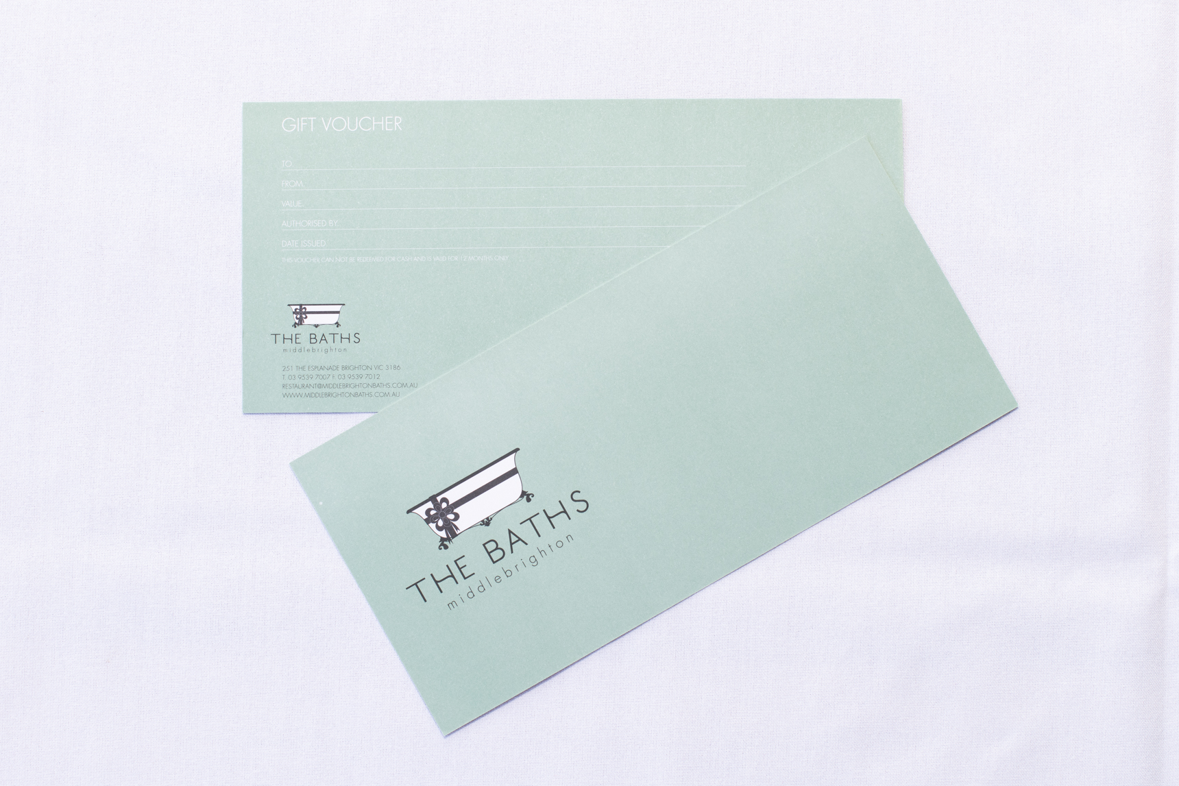 Gift Vouchers - Gift vouchers are available for purchase at The Baths Upstairs, Cafe & Bar online.