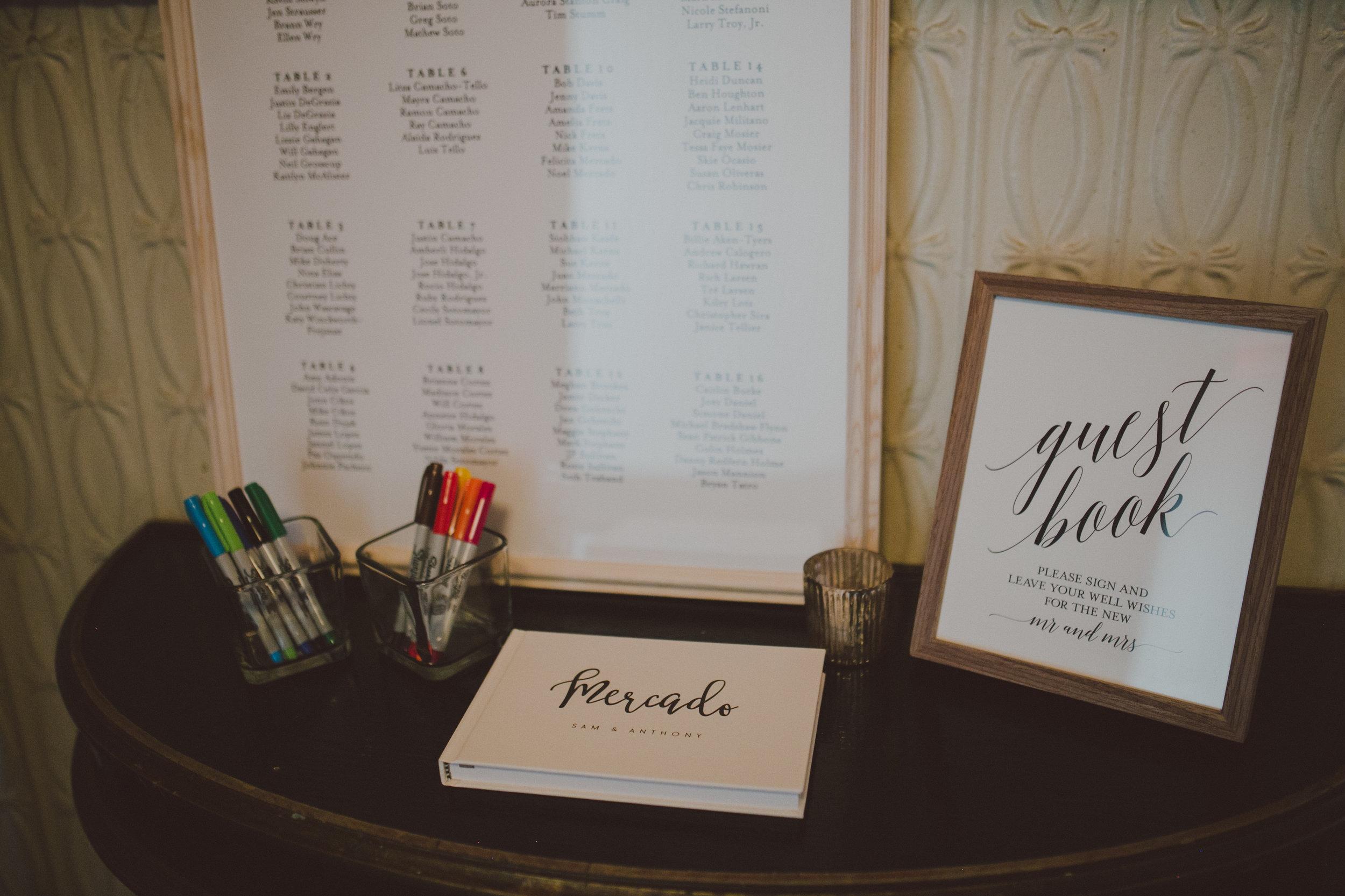 Brooklyn Wedding Coordinator Decor Setup