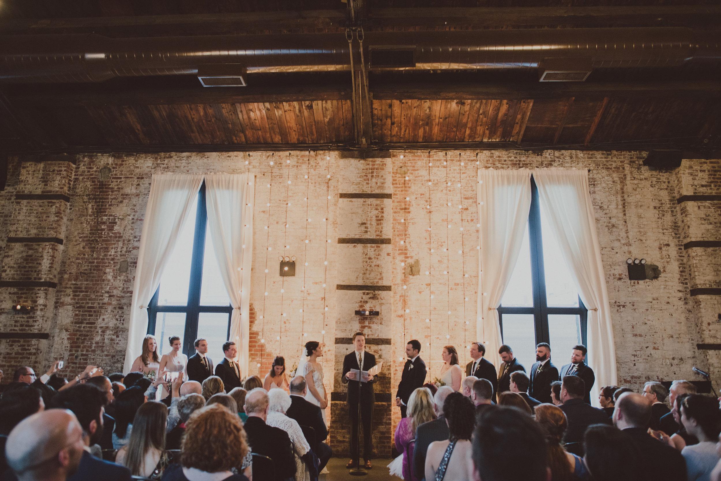 Green Building Wedding Ceremony
