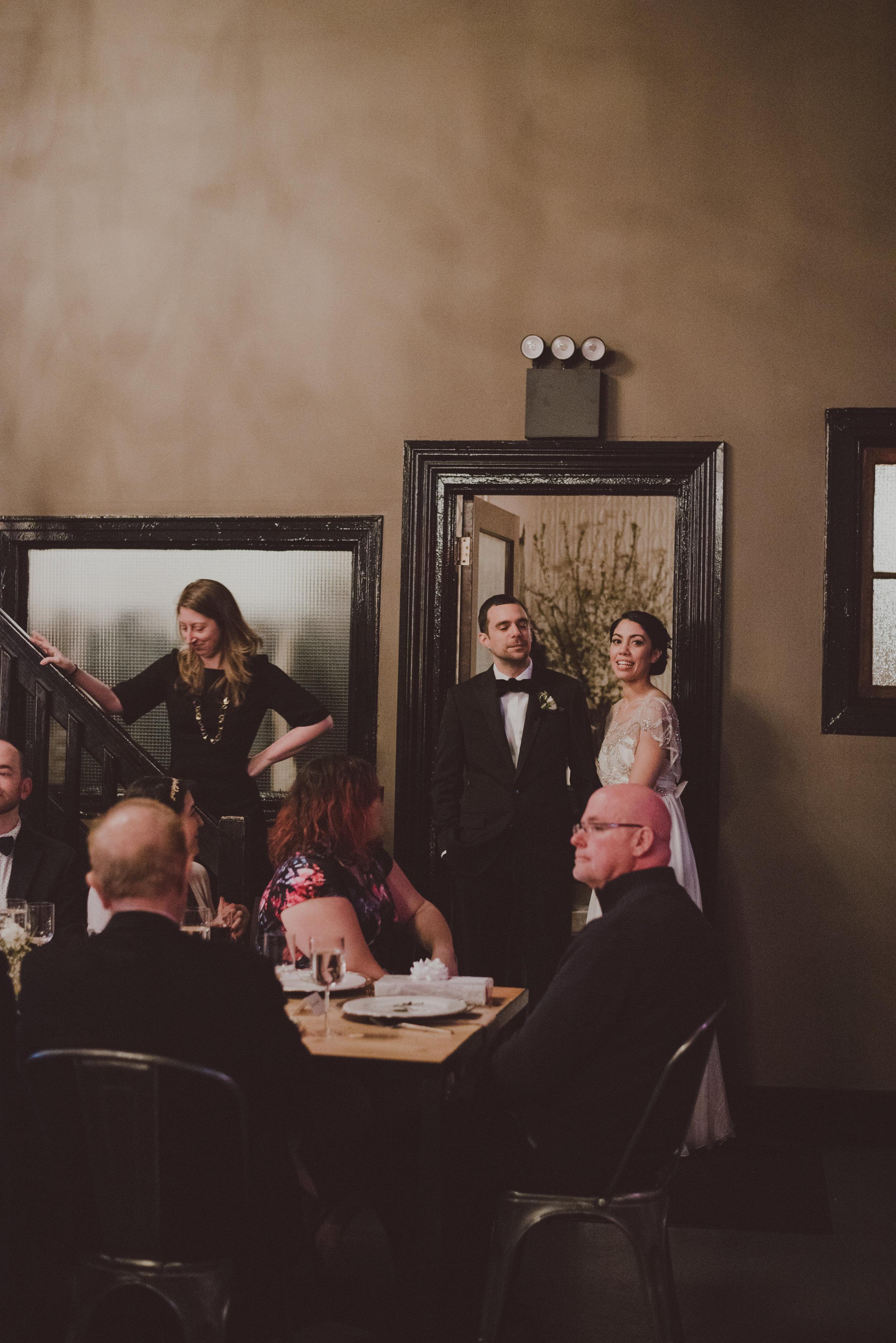 Green Building Wedding Reception