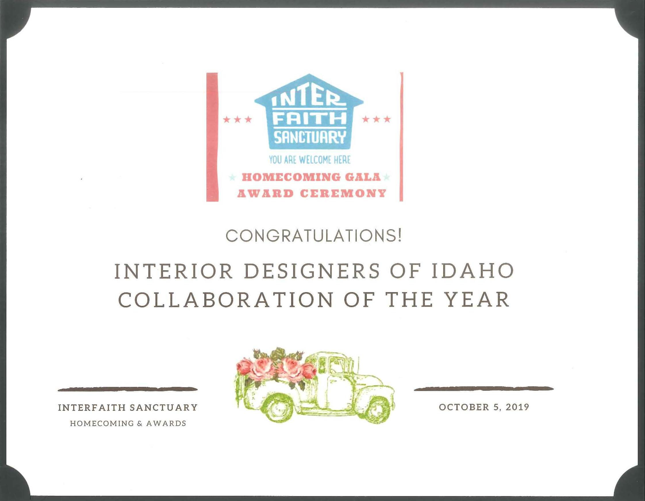 Collaboration of the Year Award