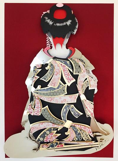 """Geisha  60 x 42"""""""