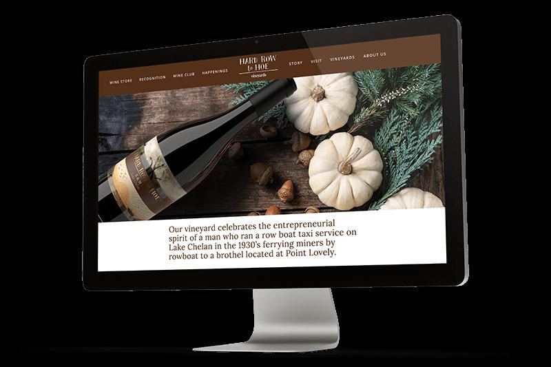 Hard Row to Hoe Vineyards homepage