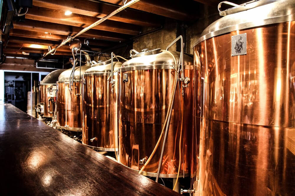 Photo: Steamwork's brewery by    Vancouver Brewery Tours