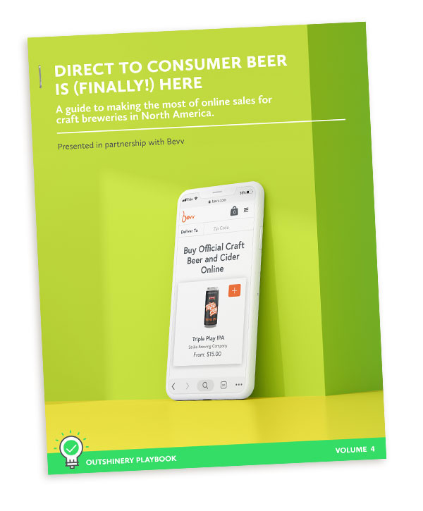 Free Download - For a more in-depth look at making the most of online sales for craft breweries in North America, download our guide, presented in partnership with Bevv, a direct-to-consumer marketplace for breweries and cideries.