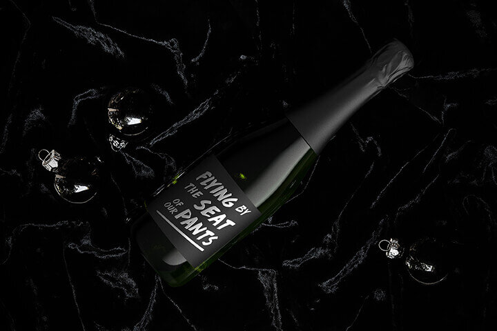 """Study in black"" Lifestyle Image for Bricoleur Vineyards"