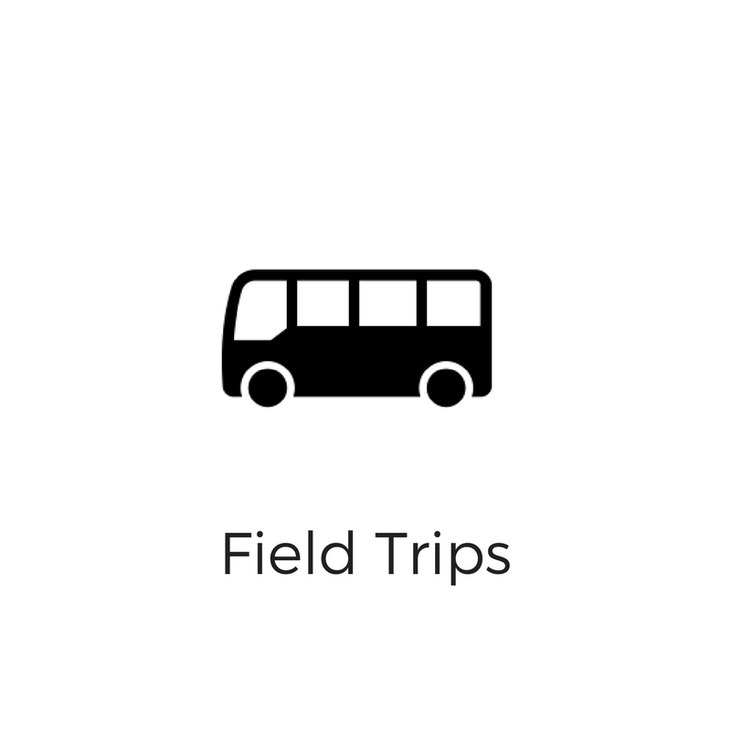 Our field trips introduce students to the world of making through educational, hands-on activities. Click here to schedule your fall field trip. All field trips are free.