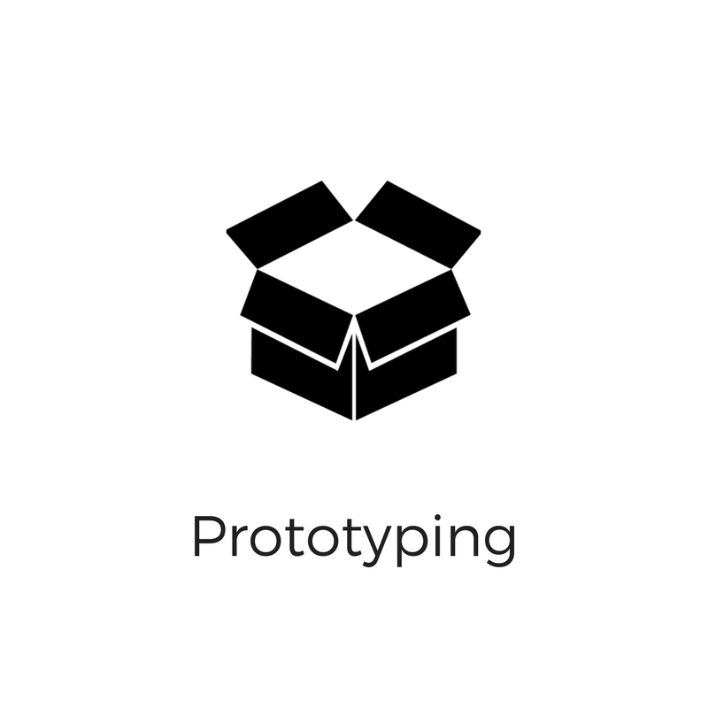 The Conductor offers free prototyping to make any product idea come to life. Click the icon to set up your prototyping appointment.