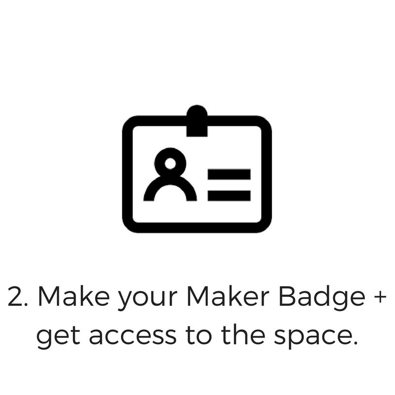 In the workshop, you will meet the Maker Ambassadors, tour the space, learn the rules and regulations of the space and learn how to safely use the equipment.