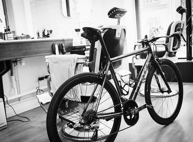 BAAW's in the shop  #thevelobarber #baaw #bikes #barbershop #barberlife #bikeporn #festka #custombicyclemovement