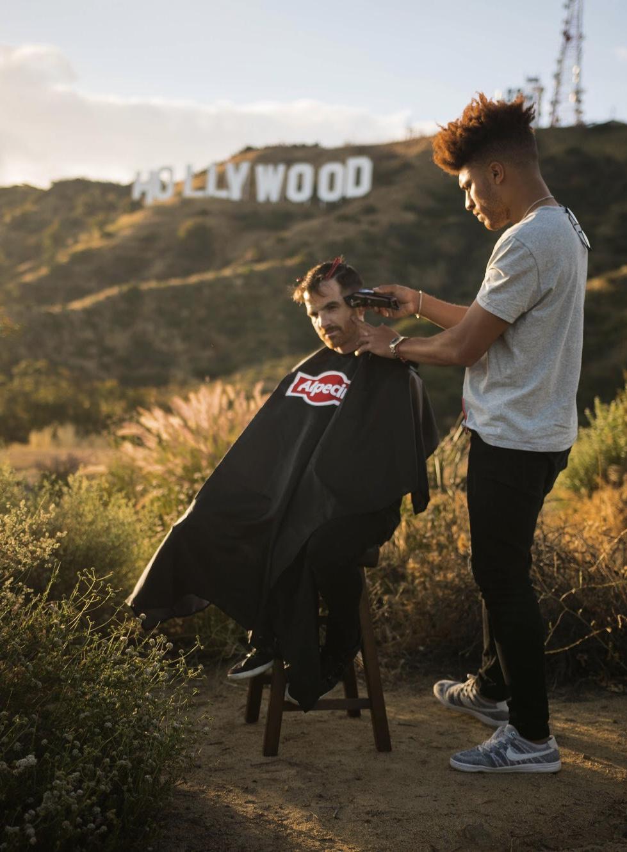 Hollywood - California  w/ Alpecin