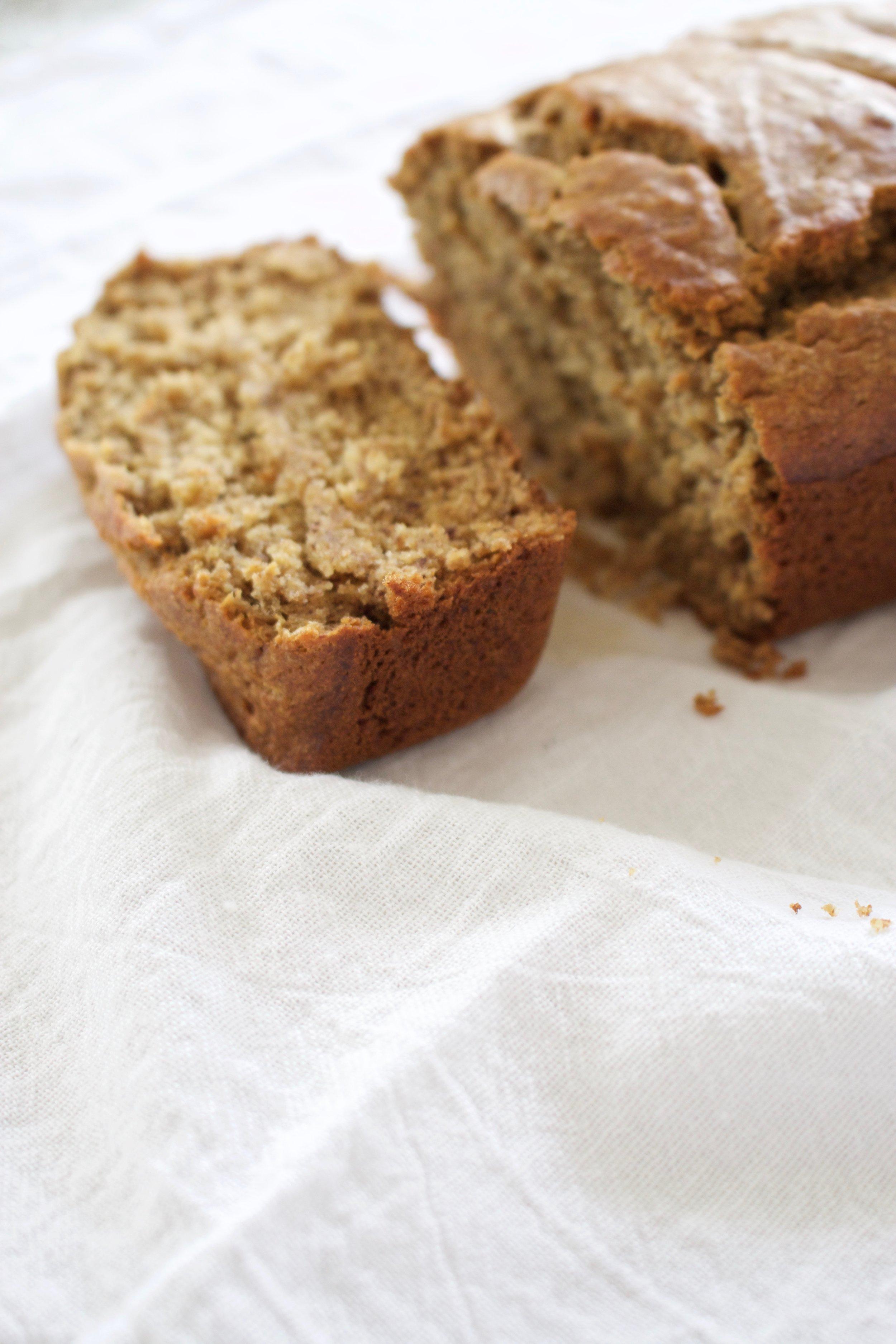 CLEAN EATING: BANANA BREAD