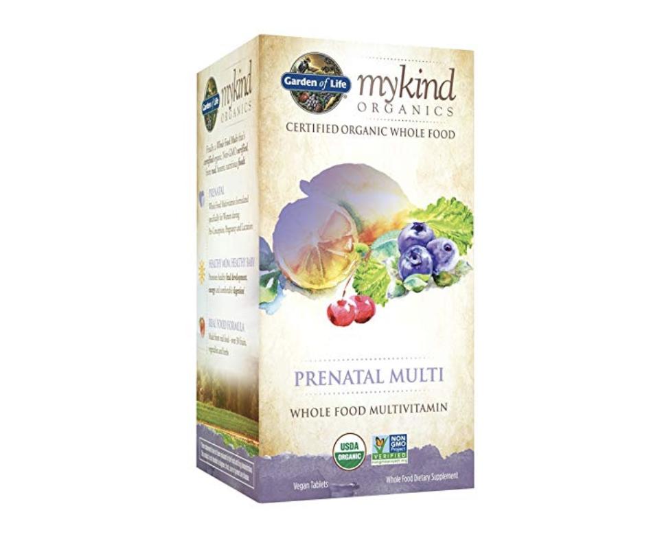 Garden of Life Organic Prenatal Multivitamin