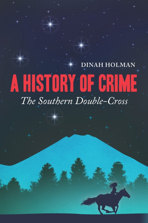 A History of Crime, Dinah Holman  Published by Ravensbourne Books Limited ISBN:978-0-473-27279-1  It is 1887. The young colony of New Zealand is in the grip of a deep depression. Insolvent speculators conspire with corrupt politicians while Maori land slips from the hands of its owners. Into this landscape of barely suppressed conflict steps a young Anglo-French-Maori soprano, visiting New Zealand for the first time. Frederique Bonnell - known to her family as Riki - meets another performer, the Italian tenor Francesco Bartellin. Unofficially, Bartellin has been persuaded to spy on lawyer Thomas Russell and his powerful associates, whose tentacles penetrate the political establishment. Riki is pitched into this treacherous underworld when she witnesses the attempted murder of Kaituhi, a young Maori man apprehended in Russell's shipboard cabin. Kaituhi and Riki are thrown overboard yet manage to save each other's lives. Mingling timeless themes of misunderstanding and betrayal,  A History of Crime  interweaves real and fictional crimes in 19th century New Zealand. It explores the seamy side of Victorian society, with echoes that resonate into the present day.
