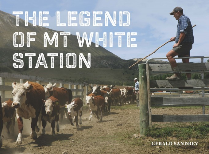 The Legend of Mt White Station, Gerald Sandrey  Published by Mary Egan Publishing ISBN: 978-0-473-32397-4   Sold Out   The diverse and desolate country that makes up Mt White Station has held an irresistible allure for men for decades. Many have committed themselves to the extreme weather and isolation of the place only to finally admit defeat, while others have endured, raising families and forming bonds with their fellow station workers and the land itself. From the Riversdale flats to the Puketeraki and Dampier ranges on the Lochinvar estate in the Upper Waimakariri catchment, Mt White has been one of the most successful operating stations since the Long Depression of the 1880s. The Turnbull family, who live 200 kilometres away from the station, have owned Mt White for almost 100 years. The key to their success has no doubt been the careful appointment of skilled managers made of the right stuff to handle this volatile and isolated terrain. From the managers, musterers, shepherds, shearers, packmen, fencers, deer-cullers, cooks, cowboys and the wives and children who have worked and lived there, Mt White has certainly attracted its share of colourful characters and high country legends. This book pays homage to them and to the rugged and beautiful landscape of Mt White station.