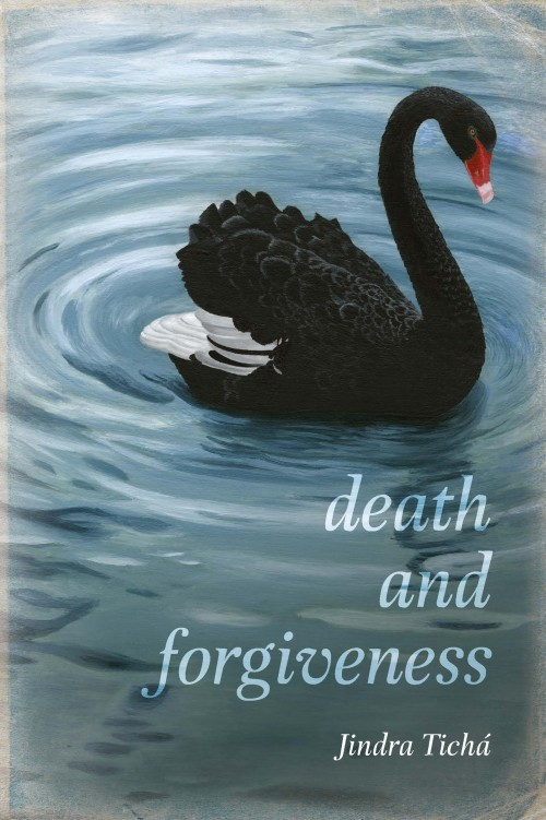 Death and Forgiveness, Jindra Ticha  Published by Mary Egan Publishing ISBN:978-0-473-30671-7  Two worlds collide. Anna has flown from New Zealand to her native Prague to nurse her dying mother. The night after the funeral she receives a phone call with the news that her husband Jan has committed suicide in faraway Dunedin. Why has Jan decided to end his life? As Anna grapples with her grief in post-communist Prague, her story is interwoven with the tale of the family's fortunes on the long voyage taking them to New Zealand 20 years previously. Fleeing the violent takeover of Czechoslovakia in 1968, Anna and Jan found themselves in a strange new country with unfamiliar values. This had an unexpected consequence. Instead of terminating an unwanted pregnancy, Anna decided to give birth to Marie – a daughter who would go on to claim the lion's share of Jan's affection. A subtle and affecting story of change and rebirth,  Death and Forgiveness  shows how exile alters the pattern of a life, with after effects that reverberate for decades.