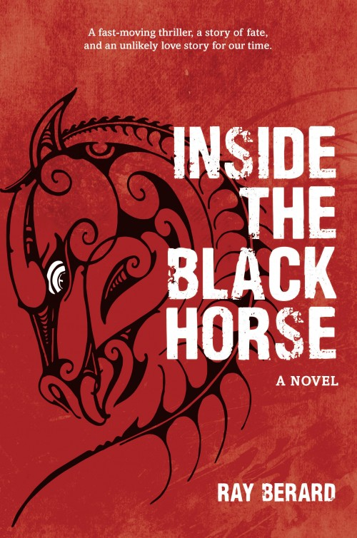 Inside the Black Horse, Ray Berard  Published by Mary Egan Publishing ISBN :978-0-473-31515-3  Winner of the 2016 Ngaio Marsh Award for New Zealand Crime Writing    Inside the Black Horse  is a fast-moving thriller, a story of fate, and unlikely love story for our time. Pio Morgan is waiting outside a pub on a cold winter night. There is a debt he must pay and no options left. What he does next drags a group of strangers into a web of confusion that over the course of a few days changes all their lives. The young Maori widow just trying to raise her children, the corporate executive hiding his mistake, the gang of criminals that will do what ever it takes to recover what they've lost - and the outsider sent to town to try and figure out who did what. Time is running out for all of them as events take an increasingly dark turn.