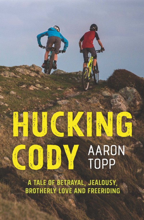 "Hucking Cody, Aaron Topp  Published by Mary Egan Publishing ISBN: 978-0-473-32668-5   Hucking Cody  was a finalist in the New Zealand Book Awards For Children And Young Adults.   ""Life has been pretty average for Cody Harrington lately. First, there's his job at the bike shop where he's being blamed for not locking the door and causing a burglary. Then there's his wild brother Zane who's promised his parents he's back on the rails, but is he? As for girls, they only exist in his fantasies, and if only he could get through the week without being egged by a carload of rugby heads. The only time that Cody feels truly free is when he's flying down bush-lined tracks and hitting stunts on his bike. But then he falls in love - with a bike and a girl. Does he have it in him to win either of them or are they out of reach? Can a huckster ever really change?"""