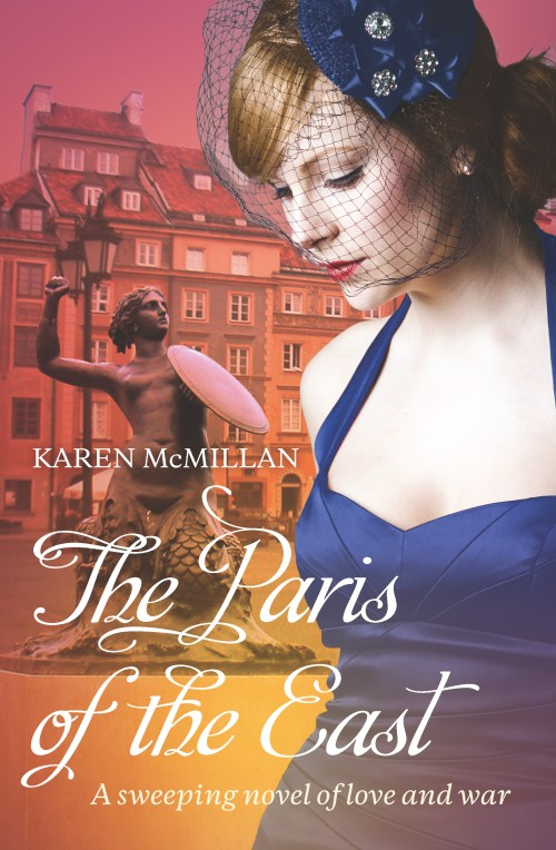 The Paris of the East, Karen McMillan  ISBN:978-0-473-27007-0  Warsaw, 1939. Four friends picnic on a brilliant summer's day and celebrate an engagement, aware of the rumbles of war, but hopeful that in any conflict Poland will have the upper hand. But only months later, Poland has surrendered and dare-devil pilot Rafael is ordered to flee the country, eventually flying for the RAF in Britain. The other three remain in Nazi-occupied Warsaw - Rafael's spirited wife, Celina; his shy and brooding brother Marek - who wishes he was the one Celina had married - and their plucky friend Anna. Danger lurks on every corner of occupied Warsaw, even more so when the three friends become active members in the Polish Resistance...A page-turning story that spans the period of the Second World War, this is a dramatic historical adventure that goes from Warsaw to Lublin, from Bucharest to Paris, from London to the Concentration Camp at Ravensbruck - but always at the heart of this novel is the mesmerising city of Warsaw - 'The Paris of the East.'