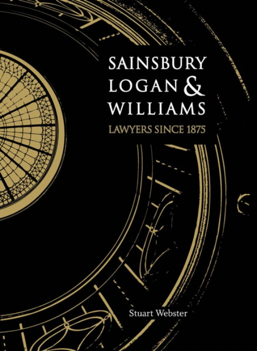 Sainsbury Logan & Williams, Stuart Webster  Published by Sainsbury Logan & Williams ISBN 978-0-473-19241-9  This book, published in hardback and launched in November 2011 chronicles the story of Sainsbury Logan & Williams from its origins in 1875 through to the present.  This book is unashamedly a compendium of information about the evolution of a provincial law firm with its roots embedded in colonial New Zealand. It is not intended to be read as a novel from the beginning chapter through to the end. It is hoped that those who pick up the book and browse its pages will find an image or two that will resonate with them and in turn draw them to the text in and around those images.