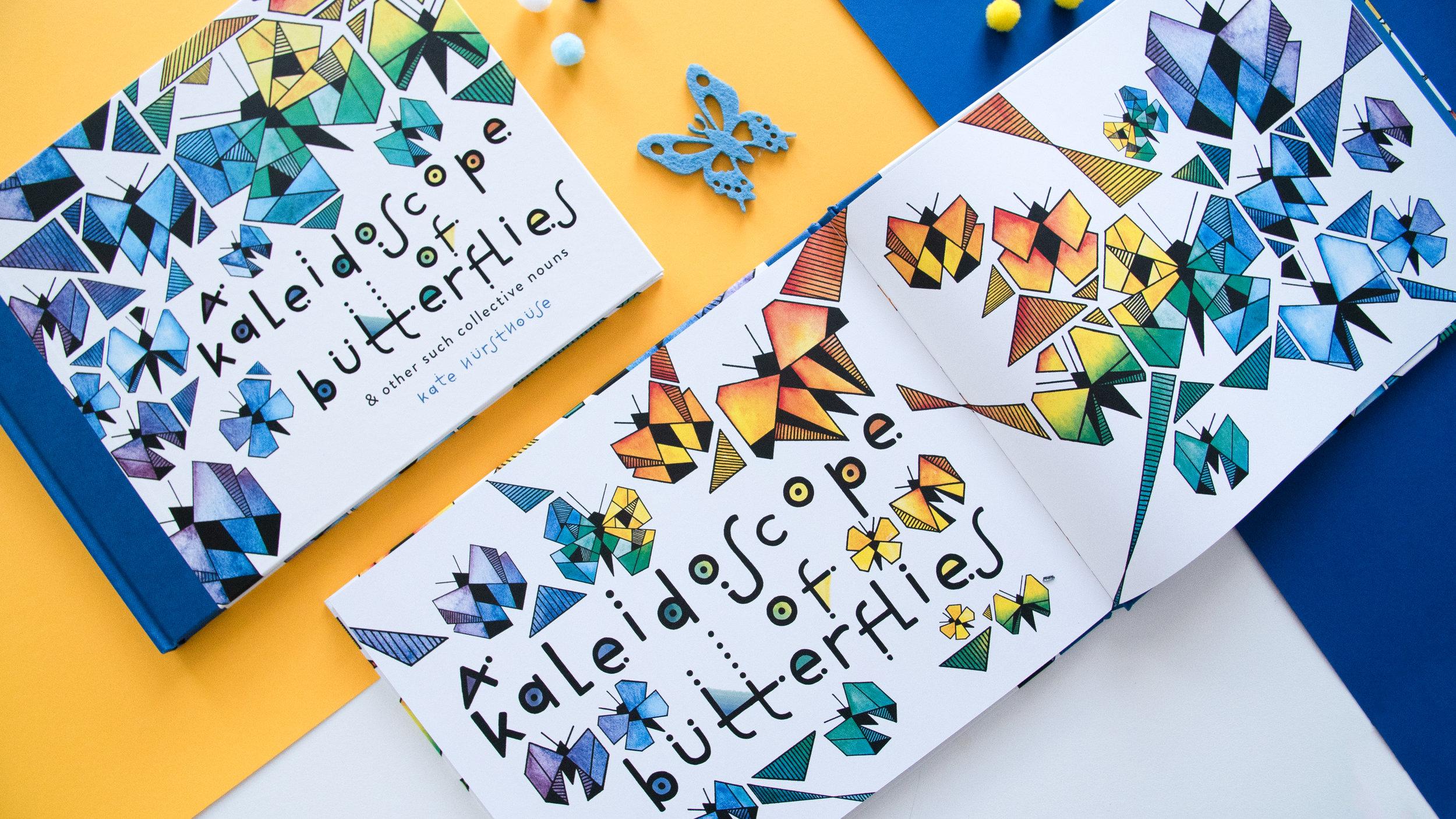 """""""A Kaleidoscope of Butterflies"""", Kate Hursthouse"""