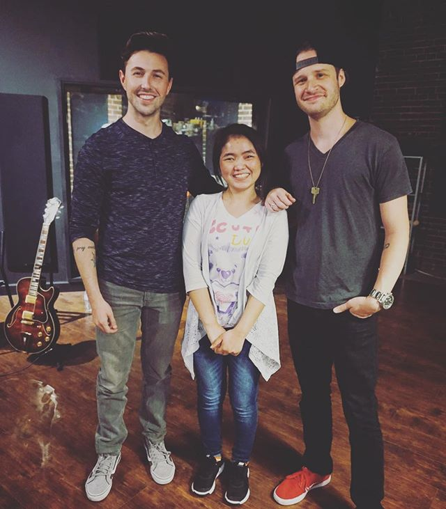 """We 💛 our volunteers! These guys added some amazing electric guitar parts to Ehlaywah's beautiful song called """"Wish I️ Were the One."""" You're going to LOVE it. 🎸 #3chordsorg"""