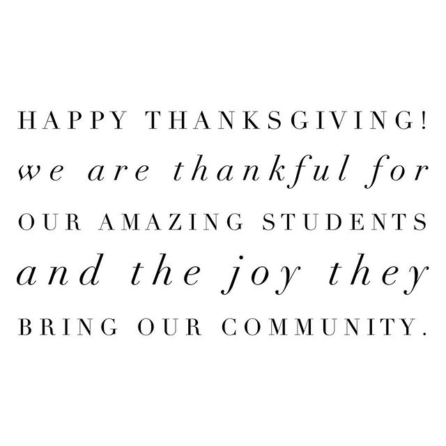 Happy Thanksgiving! 🦃 We are thankful for our students and volunteers and everyone in our 3 Chords community! What are you thankful for?