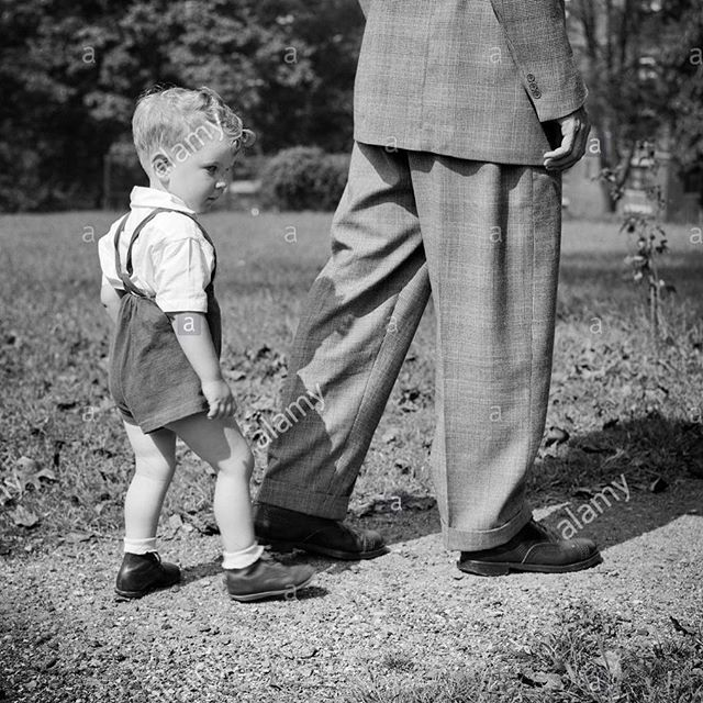 """The father said, """"Be careful where you step."""" The son replied, """"Dad, you be careful. I'm following your footsteps."""" The greatest blessing is raising up our children & teaching them the ways they will never depart. """"The just man walketh in his integrity: his children are blessed after him."""" Proverbs 20:7  Happy Father's Day Dads! Come celebrate the Father of fathers with CRC today at 10:30am."""