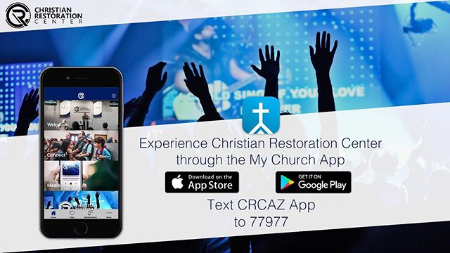 •W E  A R E  H E R E. FOR Y O U• ✔️Get Connected ✔️Be Informed ✔️Receive Encouragement ✔️Build Your Faith with the Word *Text today & experience CRC