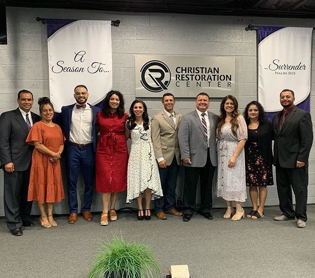 9•15•19 We were honored & blessed to ordain CRC's 1st Ministers into ministry. Rev. Israel Verduzco, Rev. Daniel Gonzales & Rev. Greg Gonzales, we pray for you & your wives that you always remain in & keep alive the anointing that God has placed over your lives.