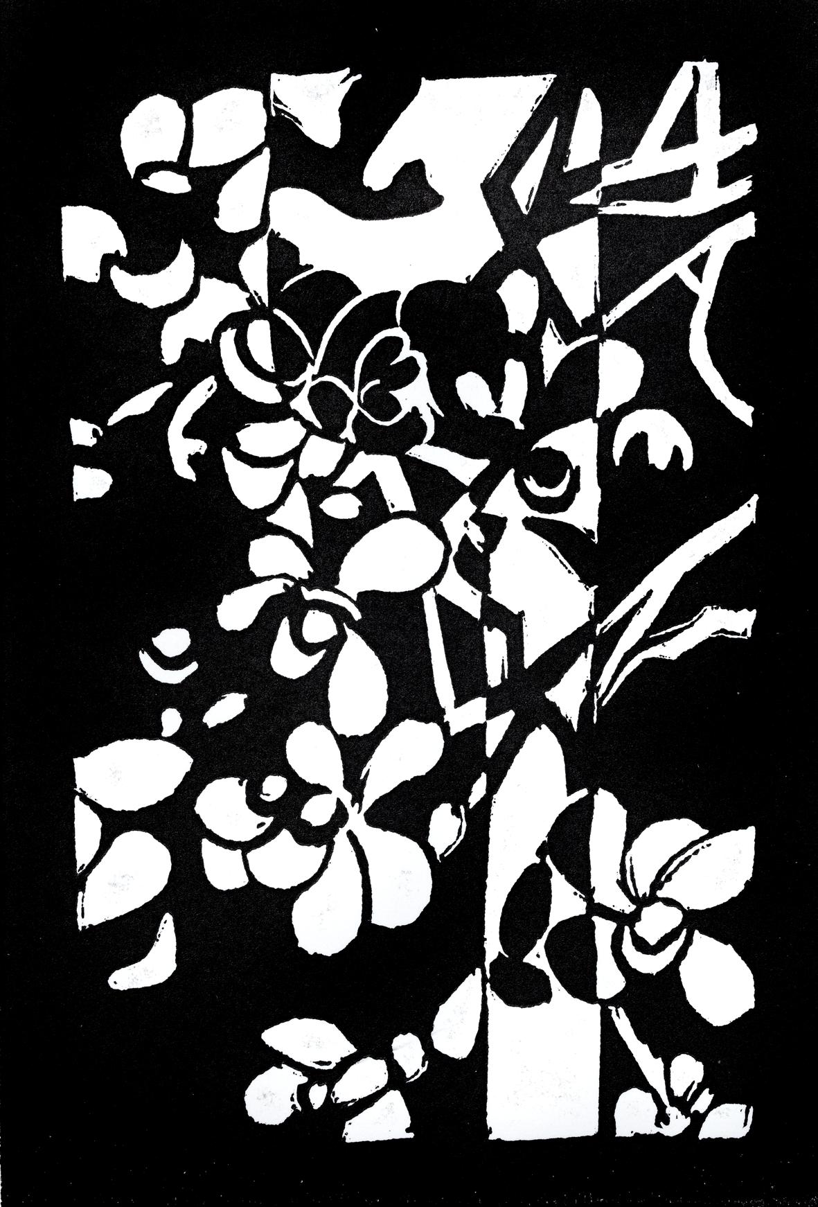 Vav for Connection  Flower: WA Smokebush  (Conospermum stoechadis)
