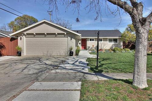 1717 Peony Lane, San Jose  3 bed • 2 bath • 1,346 sqft • represented buyer