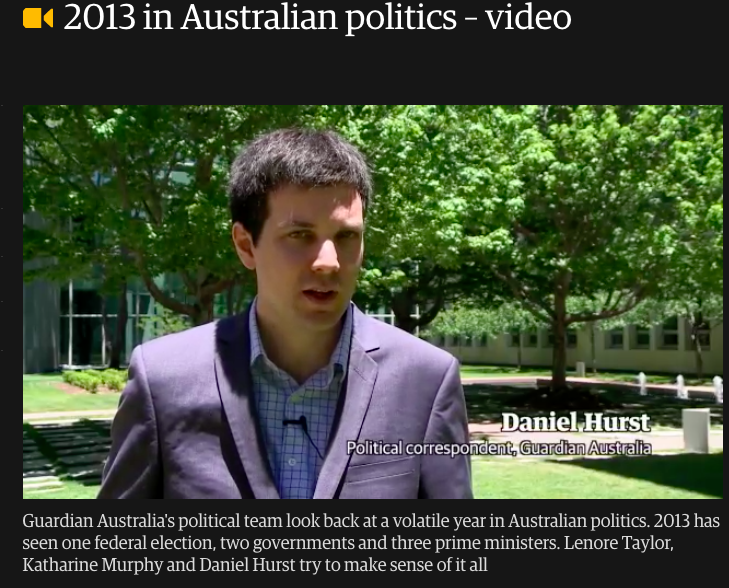 A still image from a  year-in-review video  produced by the Guardian's Canberra team