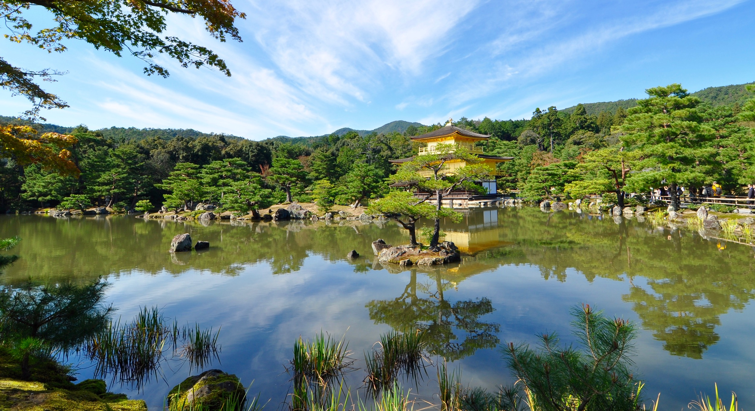 Golden Pavilion, Kinkaku-ji, in early autumn 2016. All photos: Daniel Hurst