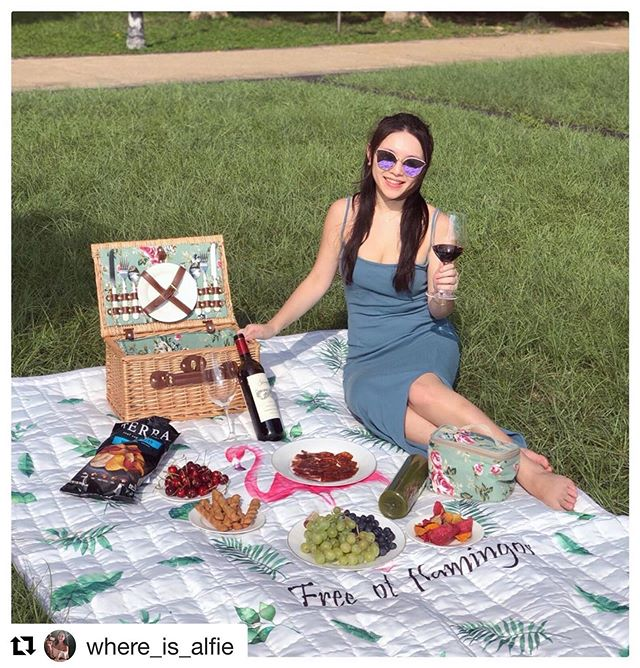 "Today is the perfect day for some #wine 🍷 & a picnic! Awesome #socialmedia #campaign with @calhkwine #Repost @where_is_alfie with @get_repost ・・・ ""Wine is sunlight held together by water"" - Galileo Galilei..probably the best quote for describing California wines. Unlike other wines, it's not just about the complexity but you can actually taste bliss & liveliness in California wines. It's like you can almost feel the kisses from the sun 💋☀. Today is #picnic Day! I brought this bottle of #cabernetsauvignon from #napavalley, 🍷 medium body with lingering dark fruit (blackberry, blueberry, black currant), just the perfect kind of #wine for picnic #피크닉  or beach day in #Summer 🌼👒. As a wine lover myself, I have always found California wines very easy to drink even on its own as well. ✈️So looking forward to my trip to California in October already!  This summer pair all your meals with great Californian wines! Discover Californian wines today. To find out where you can enjoy California wines this month, visit www.cawinemonthhk.com for more details on tastings, California Wines and more!  @calhkwine #californiawines #calwinehk #californialifestyle #winelover #winelife #californiawineshk"