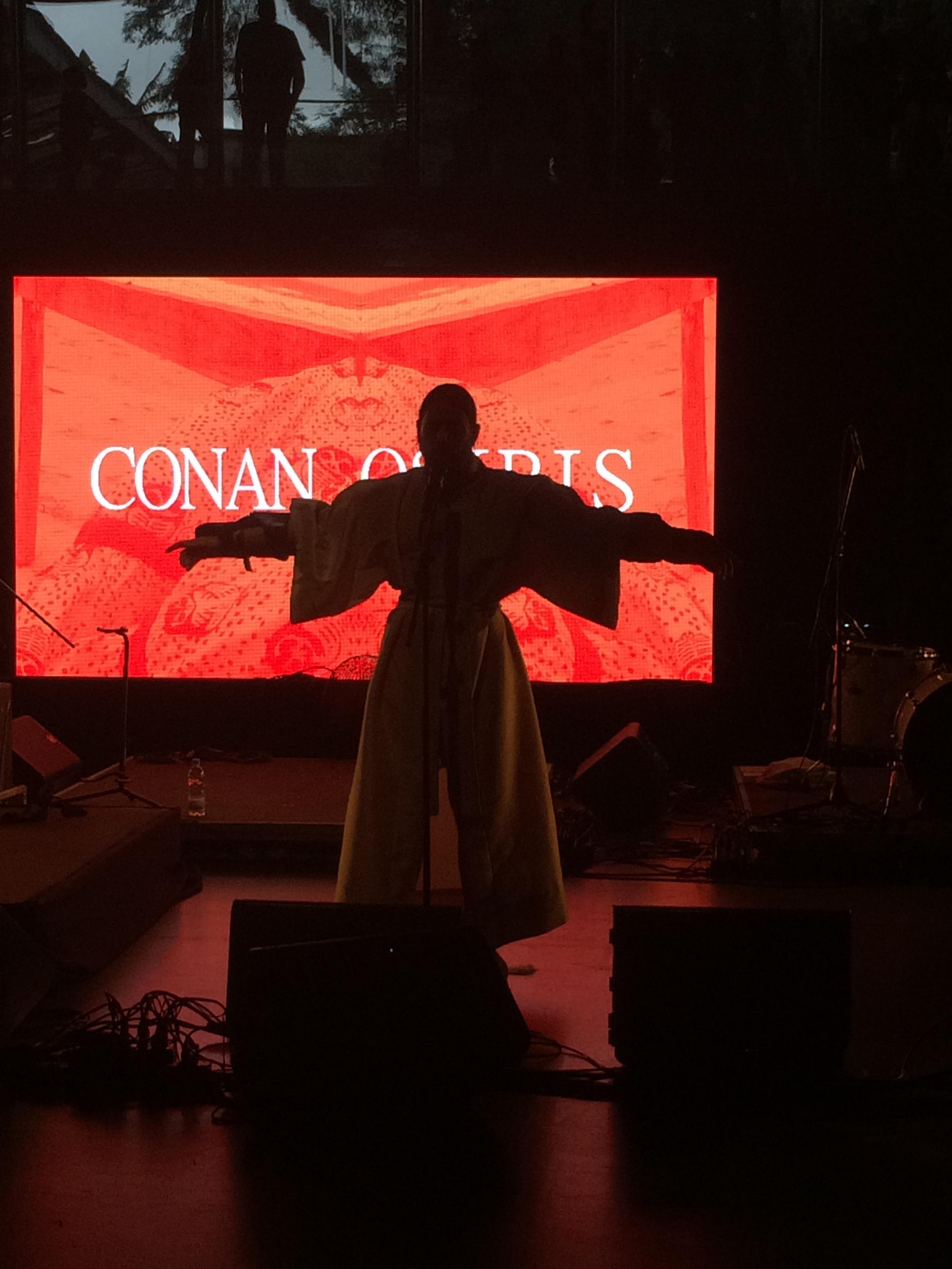Conan Osiris doing his thing