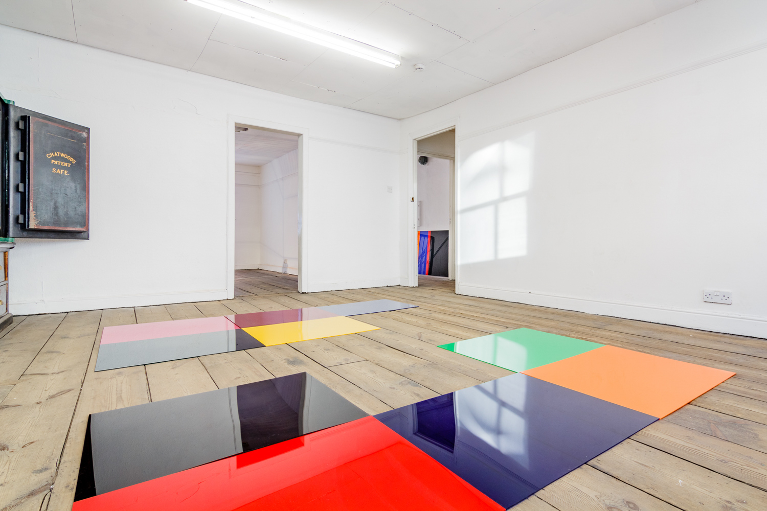 Holly Rowan Hesson,  No more disco , 2016, perspex, dimensions variable (photograph: Jules Lister)