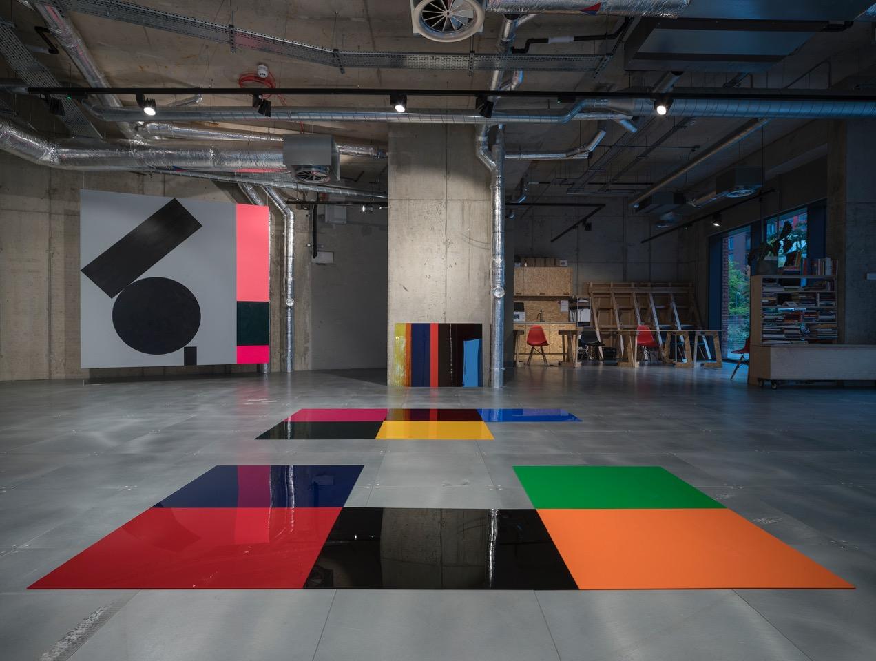 Conversation in Colour  (partial installation view) Pic credit Vassilis Skopelitis