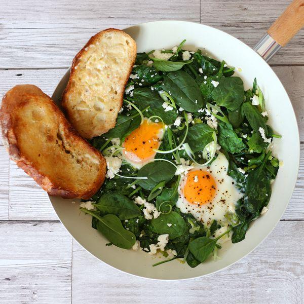 Mediterranean inspired healthy shakshuka - Breakfast, Brunch, Lunch