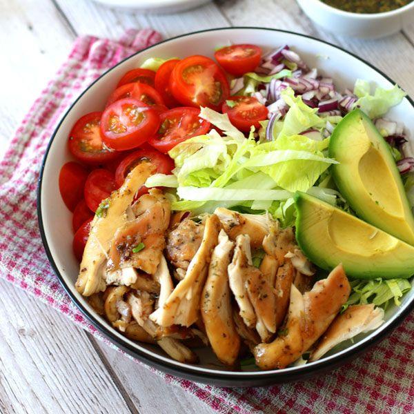 tender chicken in a herby honey marinade - Lunch, Dinner
