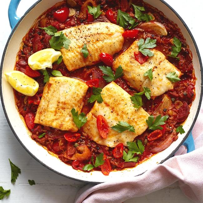 Merchant Gourmet Inspired Spanish Grains - Lunch, Dinner