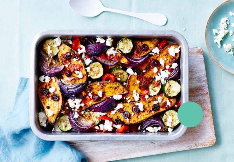 Meat Free Monday: Roasted Sweet Potato, Veg and Feta - Read more...