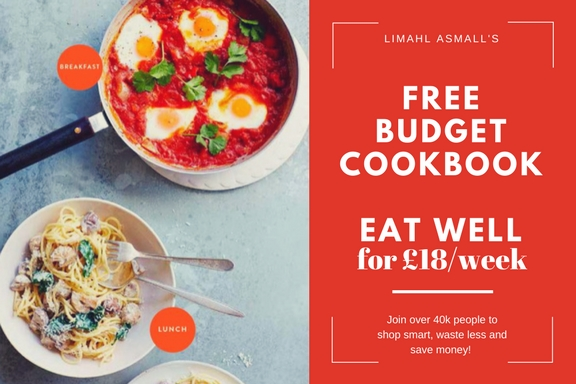 ***FREE COOKBOOK*** Eat well for £18/ week by Limahl Asmall - Download Here