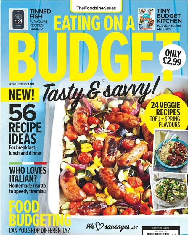This a super useful and #delicious new mag I had the pleasure of contributing to with my favourite recipes. It's got tons of tasty food tips, recipes and simple ways to save money and waste less. Have a peek if you find a copy in your local supermarket! (And let me know if you try my special Orange Cake which features! Xx . . . . . . . . . #tinybudgetcooking #delicious #food #foodie #magazine #tasty #hungry #yum #nomnom #yes #foodporn #budget #moneysaving #recipes #chef #dinner #inspiration #london #mmm #explore #meal #vegan #veg #meat #family #lunch
