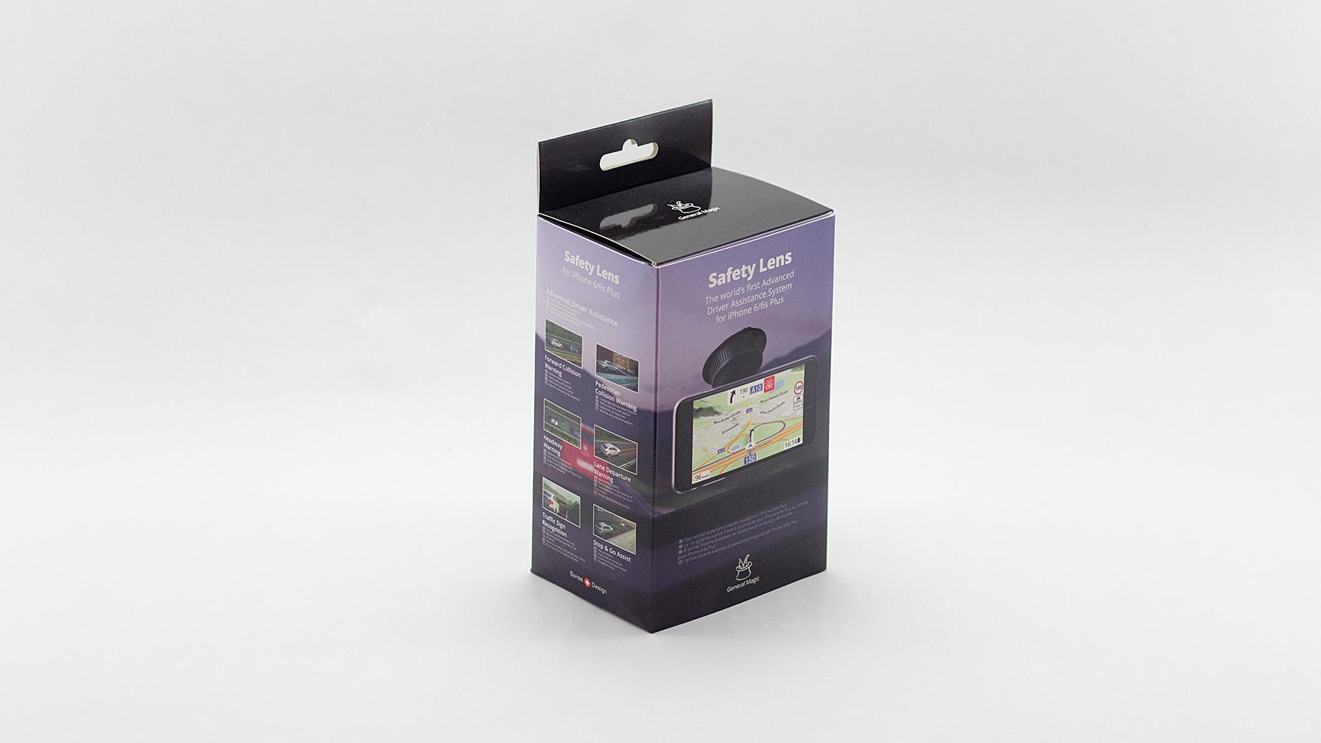 Bisigned Safety Lens Packaging Design
