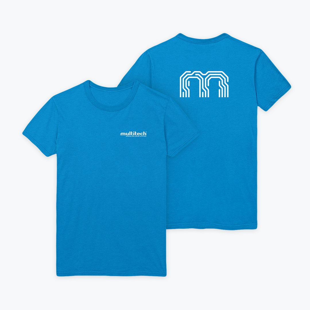 Bisigned - Multitech brand identity design - T-shirt design