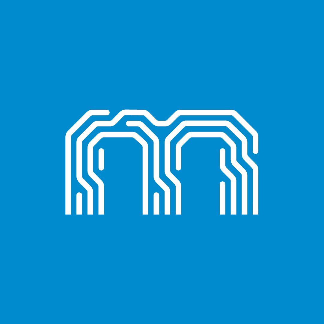 Multitech symbol crafted by Bisigned