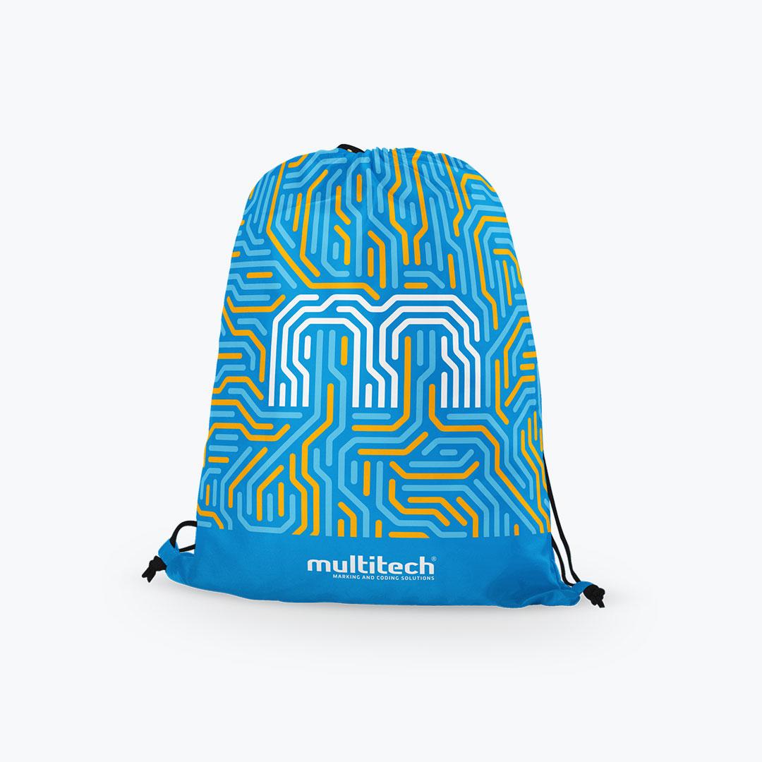 Bisigned - Multitech brand identity design - Tote bag design