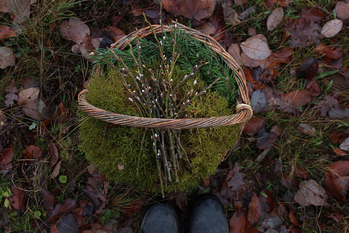 Hanna_Wendelbo_en_korg_med_skogsgrönt